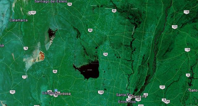 Sistemas hídricos de los Bajos Submeridionales