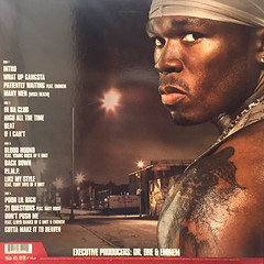 50 CENT:GET RICH OR DIE TRYIN'(JACKET B)
