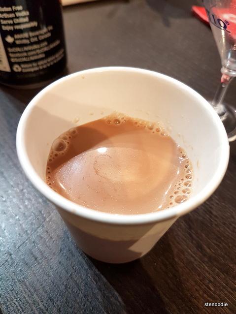 Hot Chocolate sample