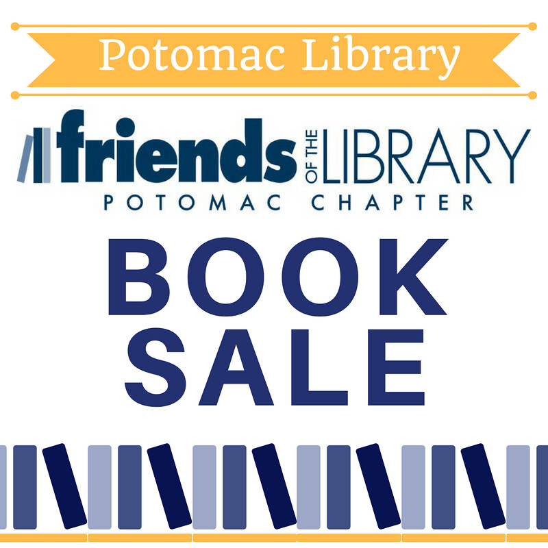 potomac friends of the library book sale