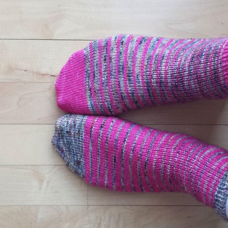 Thursday #dailyknitsocks #sockstagram #sockknittersofinstagram #socktawk #knittersofinstagram