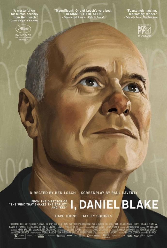 「わたしは、ダニエル・ブレイク」のポスター