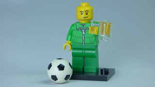 Brick Yourself Bespoke Custom Lego Figure Irish Footballer | by BrickManDan