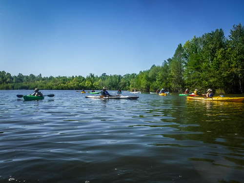 Paddle to Church Island with the Tri-County Blueways Paddlers-001