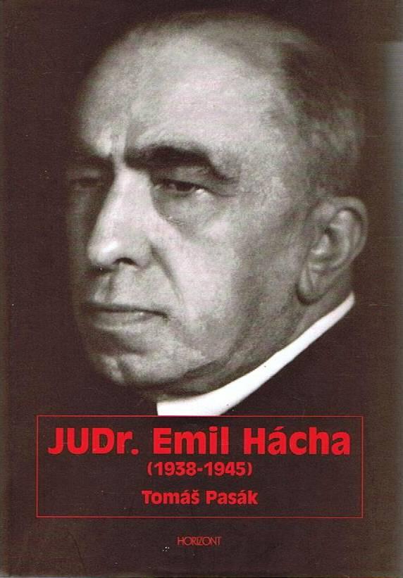 Kniha JUDr. Emil Hácha, Tomáš Pasák