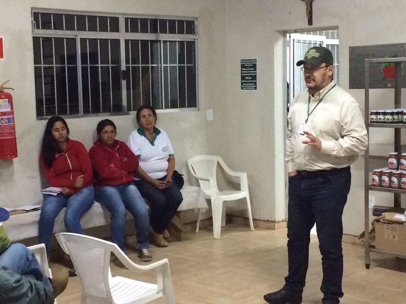 Sergio Braga realizando a primeira de DRP em Apiaí