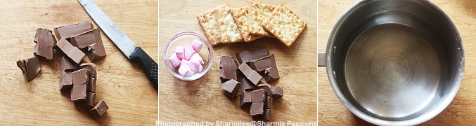 How to make Smores recipe - Step1