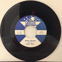 MAR-KEYS:LAST NIGHT(RECORD SIDE-B)