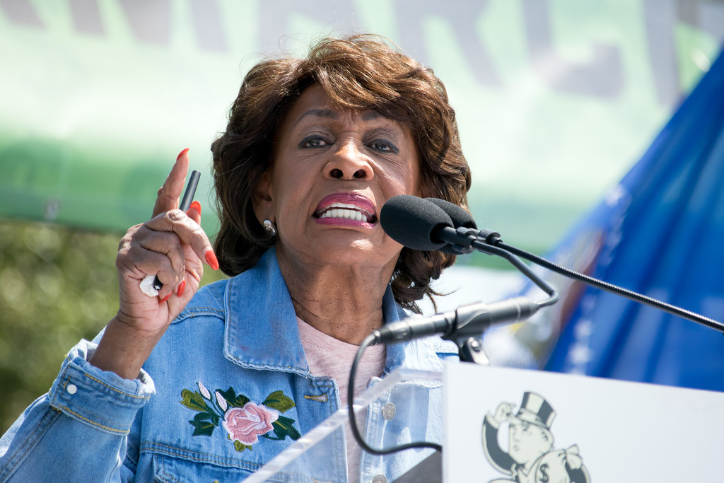 Rep. Maxine Waters says 'take out Trump' comment was about impeachment