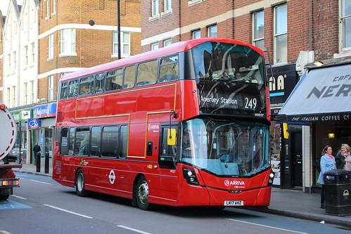 Arriva London HV317 on Route 249, Balham