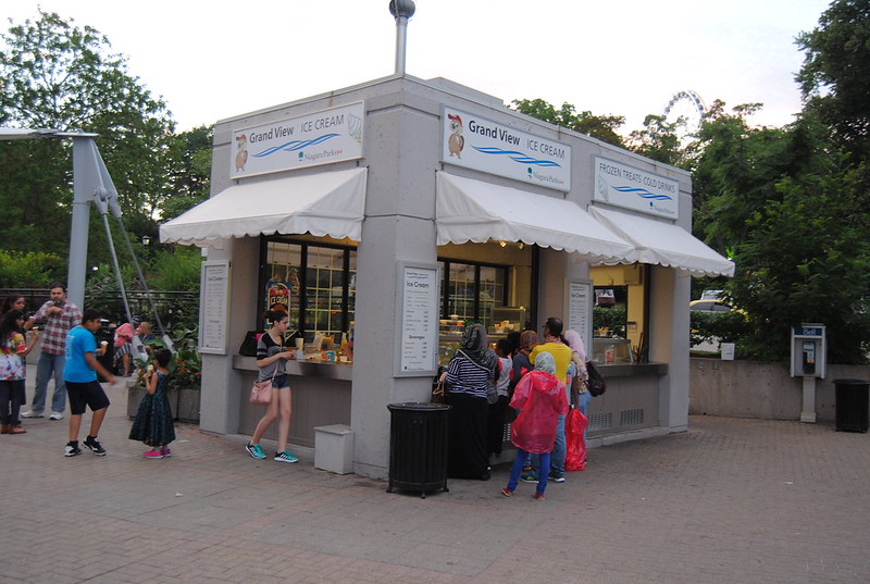 Grand View Ice Cream, Niagara Falls, Ontario