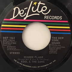 KOOL & THE GANG:HIGHER PLANE(LABEL SIDE-A)