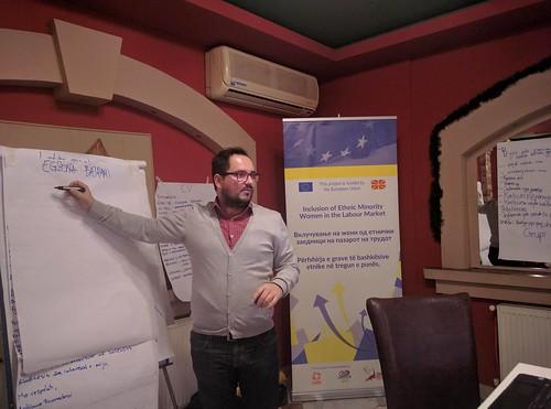 Kumanovo - Training on Career Counseling - EU project IEMWLM, December 2016