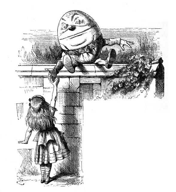 Humpty Dumpty & Alice