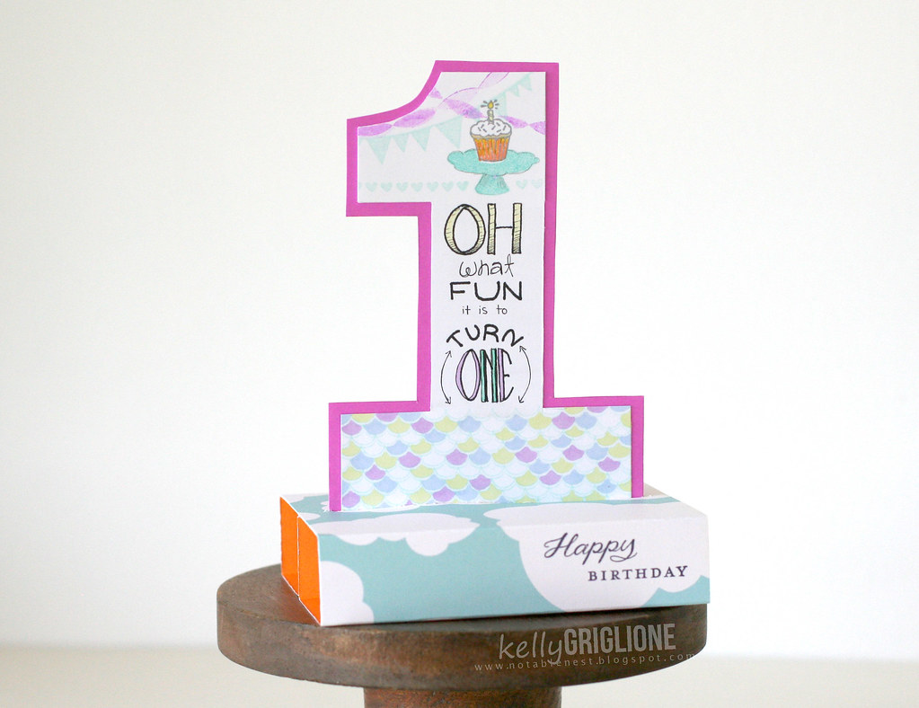 One Year Old Boy Birthday Card