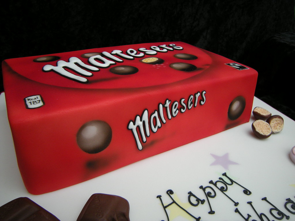 Maltesers Box Cake