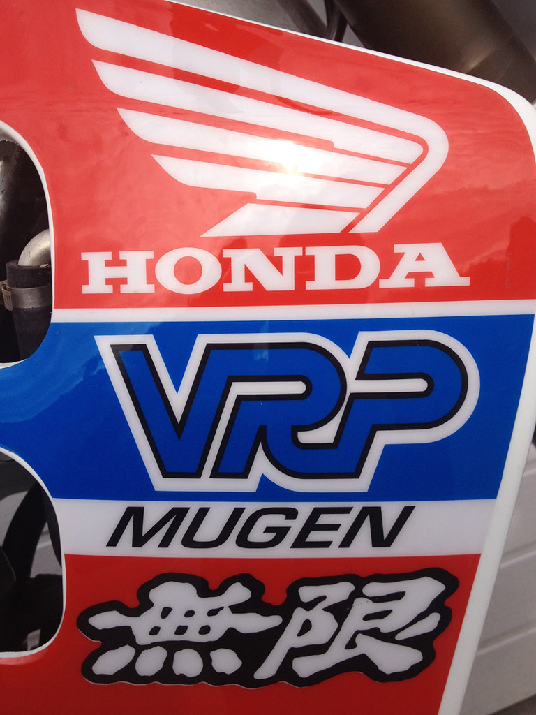 1990 Vrp Mugen Honda Cr 125 Graphics My Restored 1990 91 Flickr