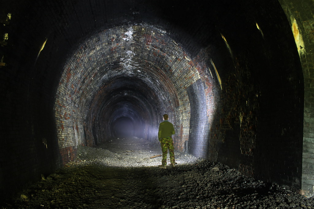 Yorkshire Wolds Railway Abandoned Burdale Tunnel Flickr