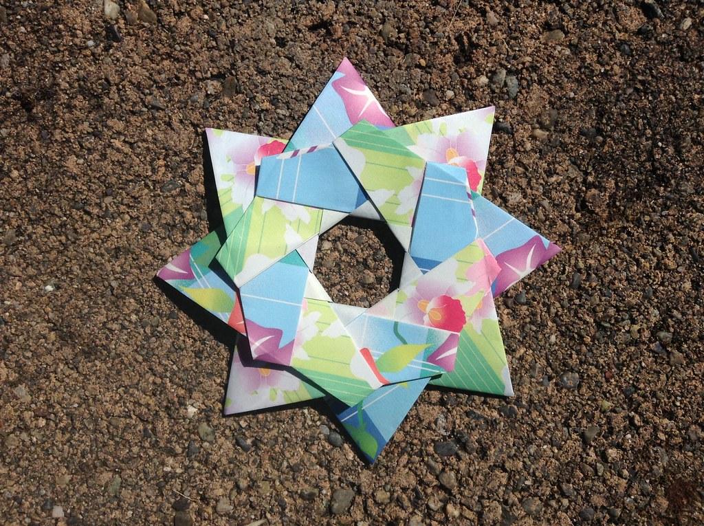 Origami robin star maria sinayskaya