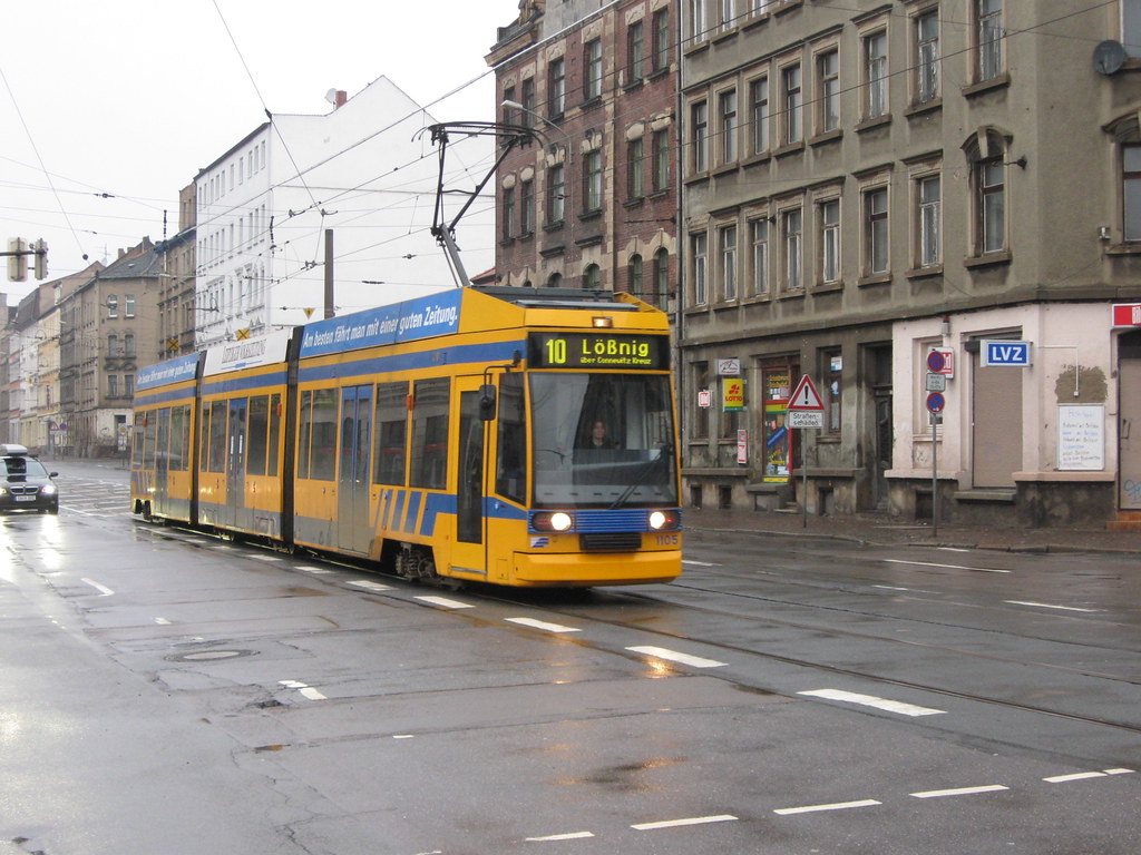 germany leipzig lvb tram leipzig lvb strassenbahn flickr. Black Bedroom Furniture Sets. Home Design Ideas
