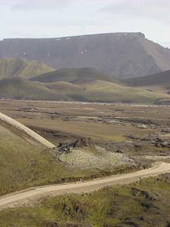 108 Korte tussenstop bij Frostastaða-vatn