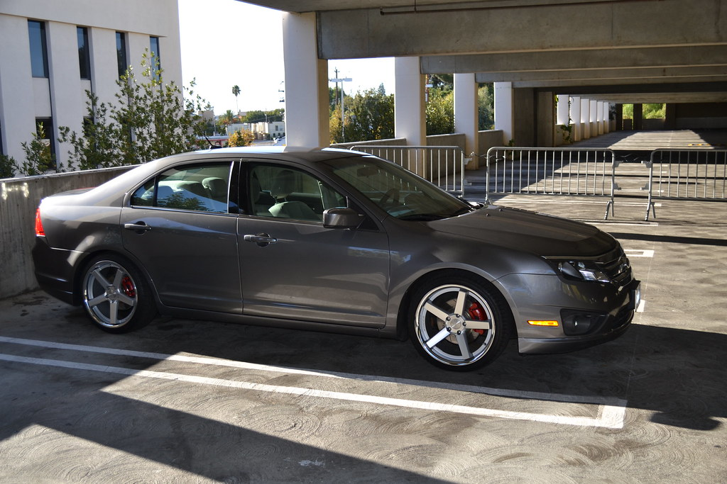2010 Ford Fusion Stance Sc 5ive Wheels Bryan S Flickr