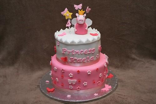 Peppa Pig Cake Cheesecake Shop