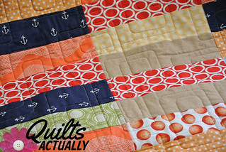 Spinnaker Quilt detail 2 | by Quilts Actually