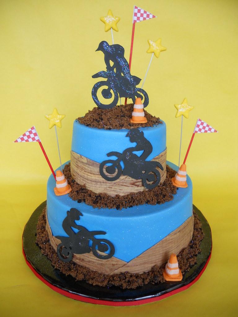 Bmx Bike Birthday Cakes
