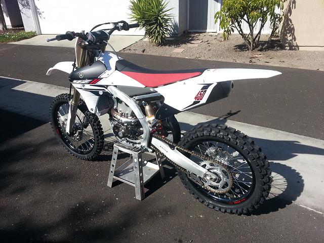 2014 YZ450F Supermoto Race Bike Build