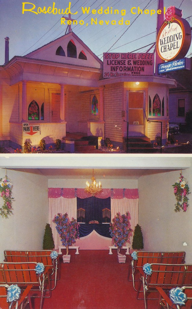 Rosebud Wedding Chapel Reno Nevada 802 West 2nd St Ren Flickr