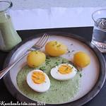 Frankfurter Grüne Sauce mit Pellkartoffeln und Ei