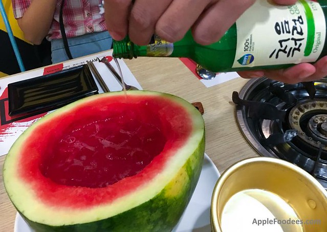 Omaya Malaysia - Watermelon Soju Cocktail