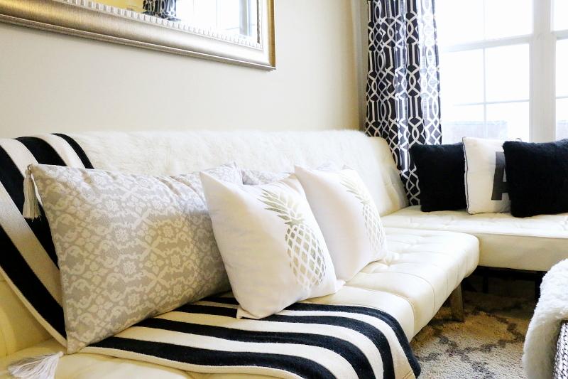 living-room-sofa-pineapple-pillows-black-white-4