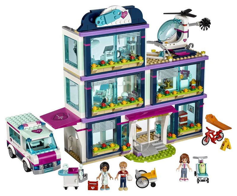 LEGO Friends Heartlake Hospital (41318)