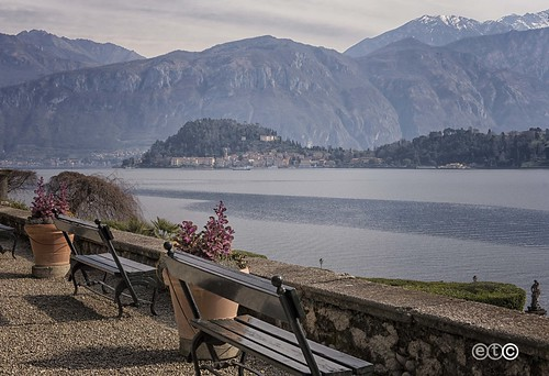 Bellagio vista da Villa Carlotta, Tremezzina - Lago di Como