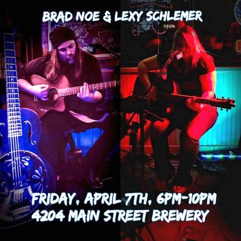Brad Noe & Lexy Schlemer 4-7-17
