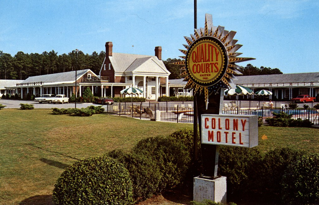 Colony Motel - Williamsburg, Virginia