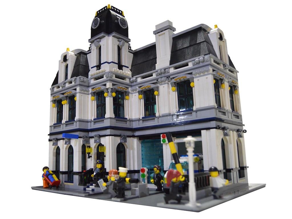 Moc Police Headquarters Lego Town Eurobricks Forums