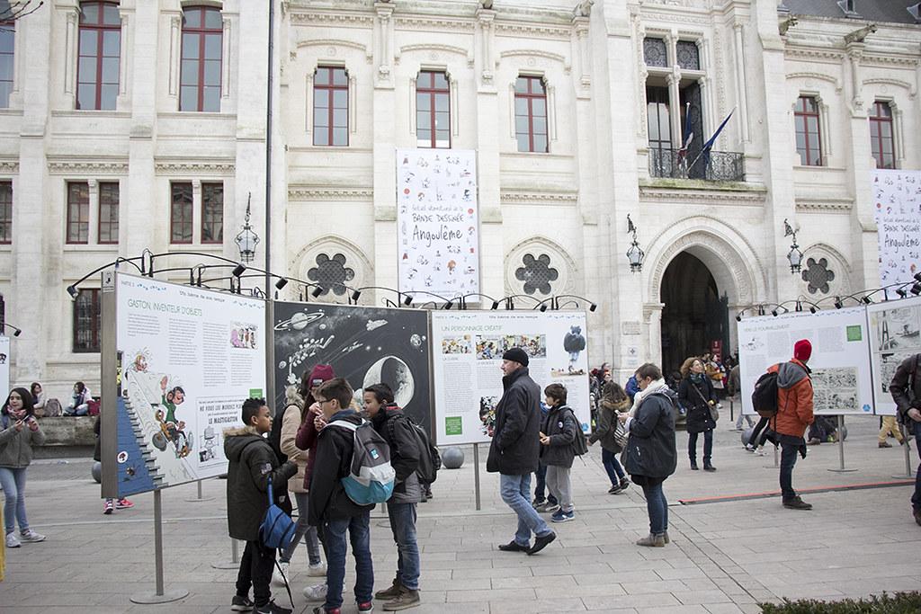 Angouleme - Expo Le Monde de Gaston Lagaffe 1