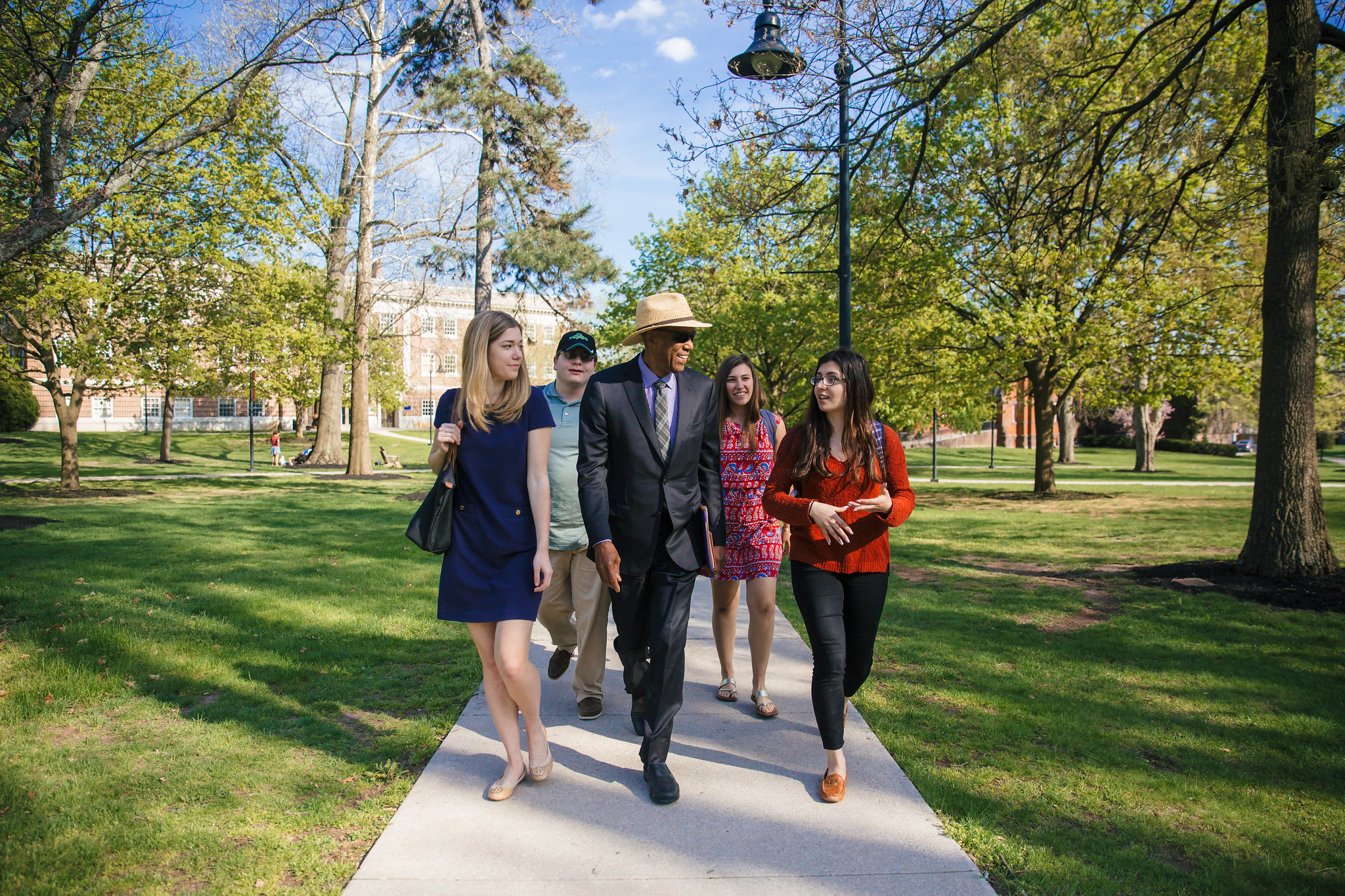 Terrence Roberts' Visit to Campus