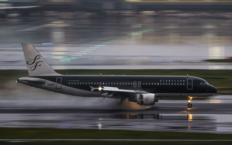 JA05MC STARFLYER スターフライヤー Airbus A320-200