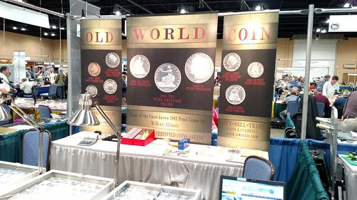 Old World Coin booth