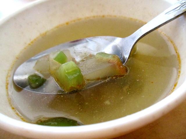 Sibu Thomson Corner complimentary soup
