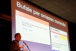 Noicattaro. Conferenza di Paolo Attivissimo front