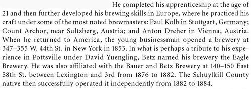 Betz-yuengling-bio