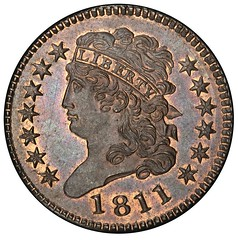 811 half Cent obverse