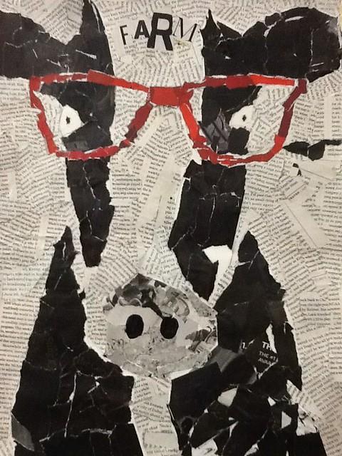 Art 2 torn paper