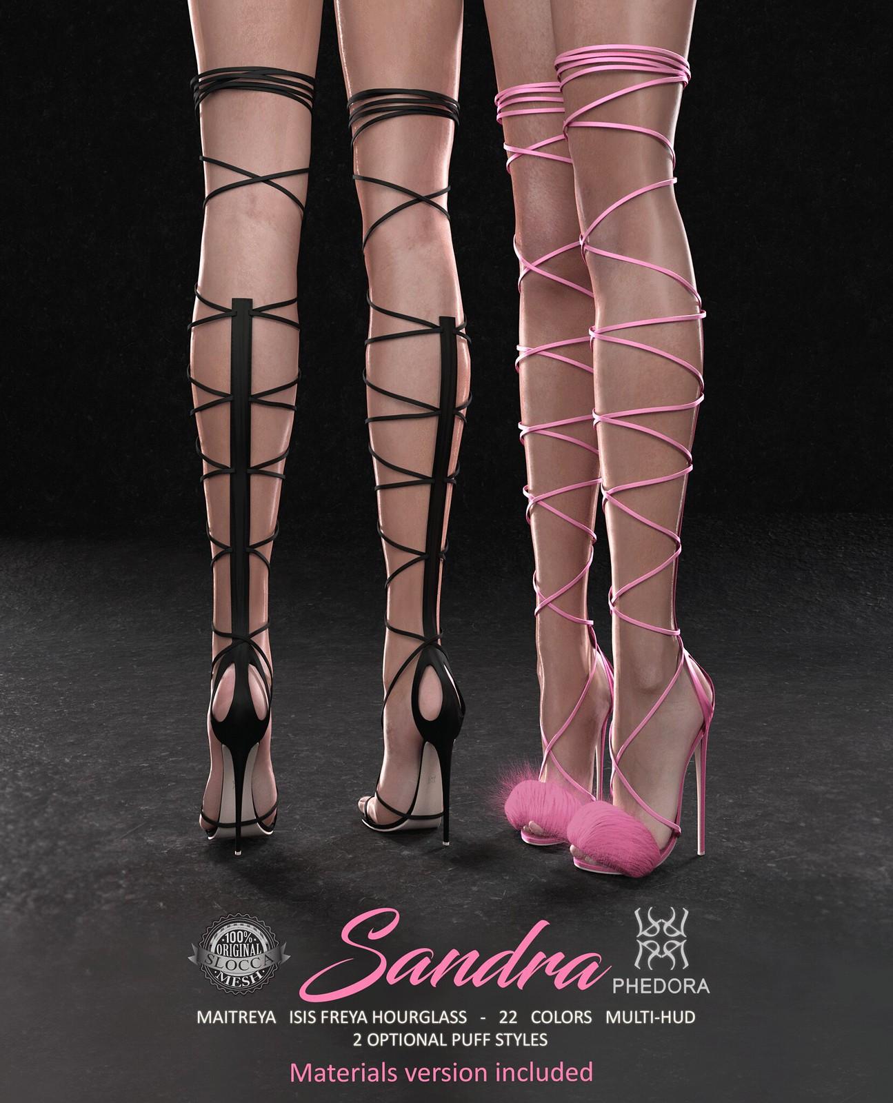 "Phedora for Kustom9 - ""Sandra"" heels ♥"