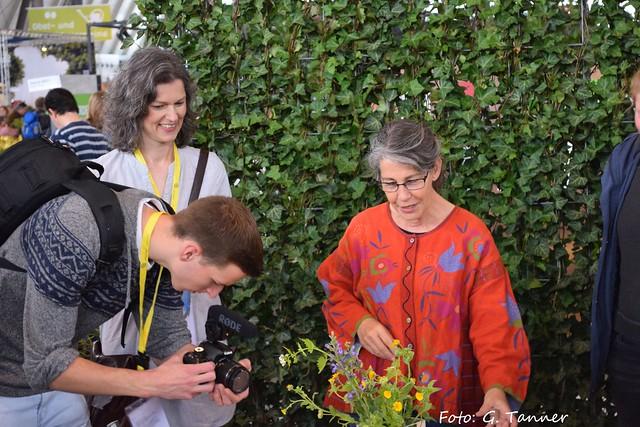 Gartenmesse Sruttgart - Bloggertreffen